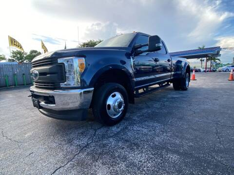 2017 Ford F-350 Super Duty for sale at ELITE AUTO WORLD in Fort Lauderdale FL