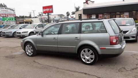 2005 Volkswagen Passat for sale at Goleta Motors in Goleta CA