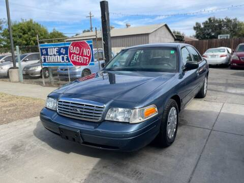 2007 Ford Crown Victoria for sale at River City Auto Sales Inc in West Sacramento CA