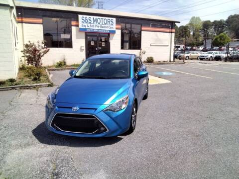 2019 Toyota Yaris for sale at S & S Motors in Marietta GA