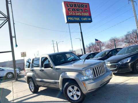 2011 Jeep Liberty for sale at Dymix Used Autos & Luxury Cars Inc in Detroit MI