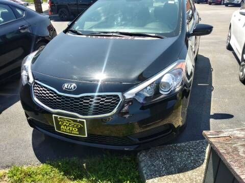 2016 Kia Forte for sale at ENZO AUTO in Parma OH