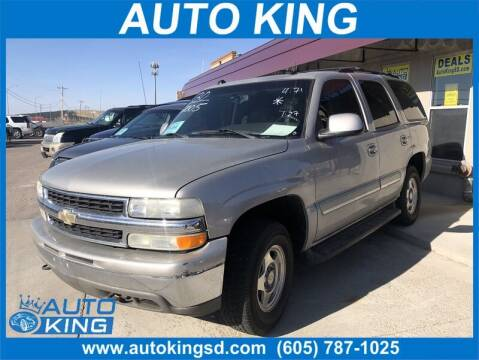 2005 Chevrolet Tahoe for sale at Auto King in Rapid City SD