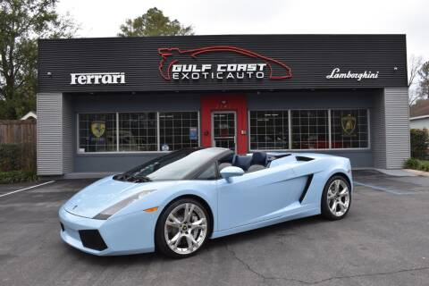 2008 Lamborghini Gallardo for sale at Gulf Coast Exotic Auto in Biloxi MS