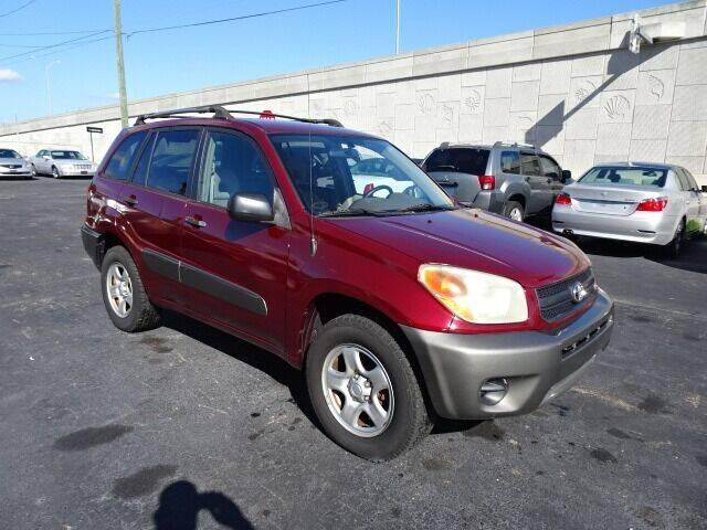 2004 Toyota RAV4 for sale at DONNY MILLS AUTO SALES in Largo FL