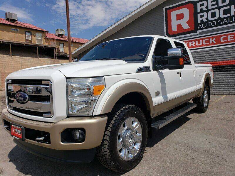 2014 Ford F-250 Super Duty for sale at Red Rock Auto Sales in Saint George UT