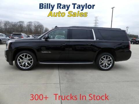 2016 GMC Yukon XL for sale at Billy Ray Taylor Auto Sales in Cullman AL