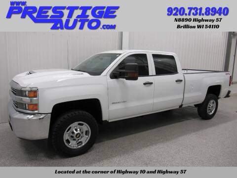 2017 Chevrolet Silverado 2500HD for sale at Prestige Auto Sales in Brillion WI