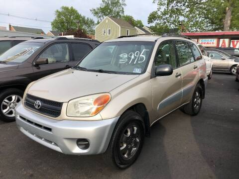 2005 Toyota RAV4 for sale at BIG C MOTORS in Linden NJ