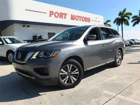 2018 Nissan Pathfinder for sale at Automotive Credit Union Services in West Palm Beach FL