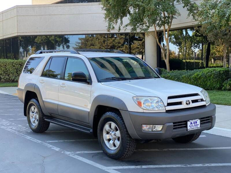 2003 Toyota 4Runner for sale at KAS Auto Sales in Sacramento CA