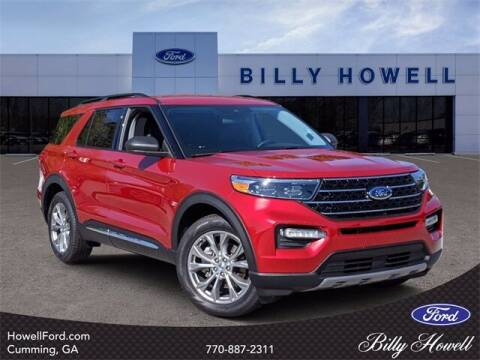 2020 Ford Explorer for sale at BILLY HOWELL FORD LINCOLN in Cumming GA