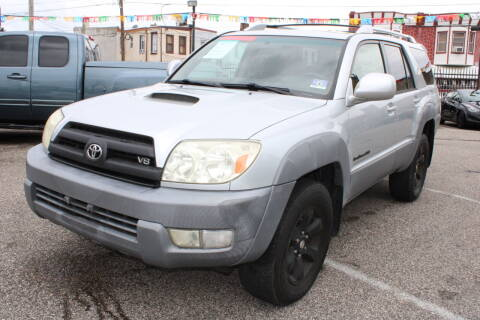 2003 Toyota 4Runner for sale at EZ PASS AUTO SALES LLC in Philadelphia PA