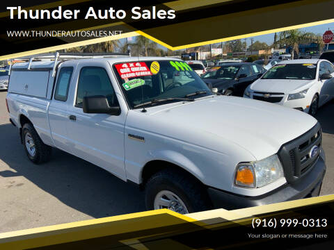 2010 Ford Ranger for sale at Thunder Auto Sales in Sacramento CA
