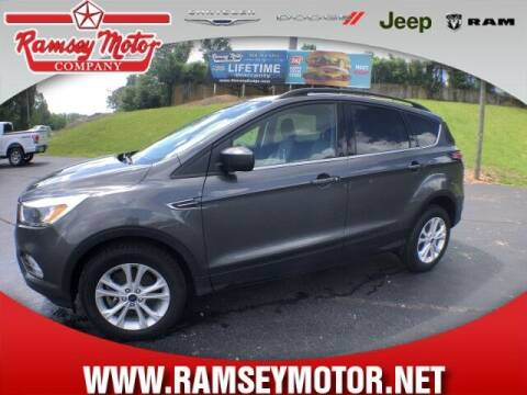 2018 Ford Escape for sale at RAMSEY MOTOR CO in Harrison AR