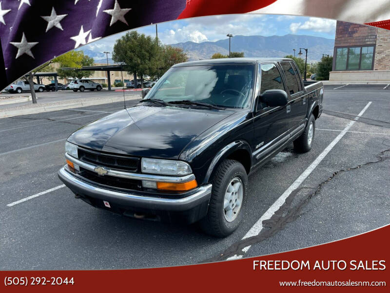 2002 Chevrolet S-10 for sale at Freedom Auto Sales in Albuquerque NM