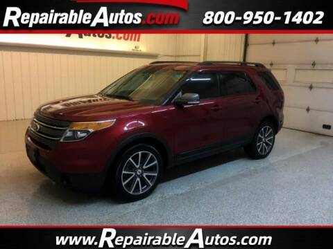 2015 Ford Explorer for sale at Ken's Auto in Strasburg ND
