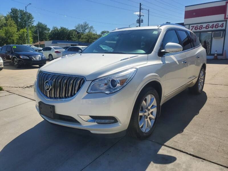 2015 Buick Enclave for sale at Quallys Auto Sales in Olathe KS