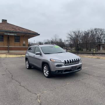 2014 Jeep Cherokee for sale at FIRST CLASS AUTO SALES in Bessemer AL