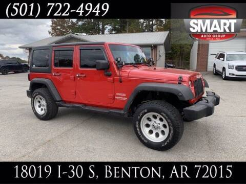 2012 Jeep Wrangler Unlimited for sale at Smart Auto Sales of Benton in Benton AR