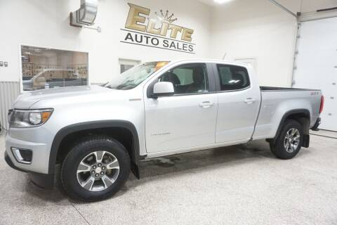 2017 Chevrolet Colorado for sale at Elite Auto Sales in Ammon ID