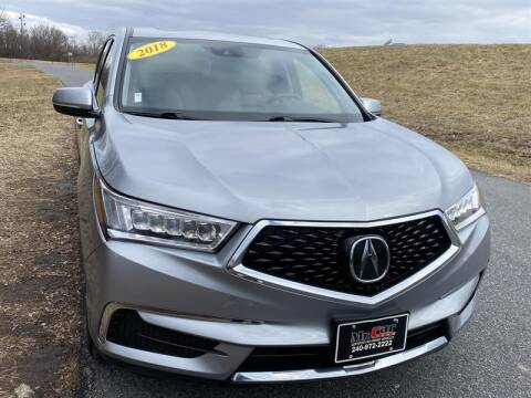 2018 Acura MDX for sale at Mr. Car City in Brentwood MD