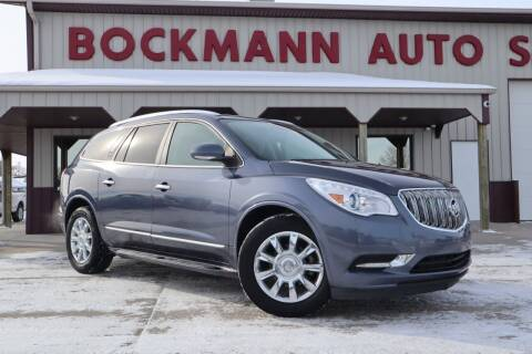 2013 Buick Enclave for sale at Bockmann Auto Sales in St. Paul NE