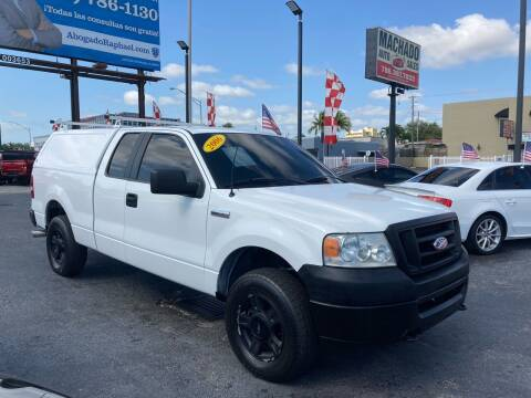 2006 Ford F-150 for sale at MACHADO AUTO SALES in Miami FL