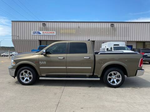 2015 RAM Ram Pickup 1500 for sale at HATCHER MOBILE SERVICES & SALES in Omaha NE