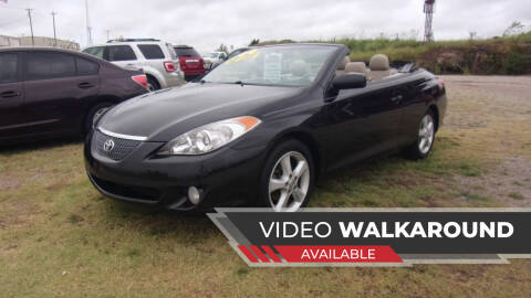 2004 Toyota Camry Solara for sale at 6 D's Auto Sales MANNFORD in Mannford OK