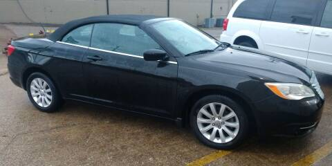 2012 Chrysler 200 Convertible for sale at Handicap of Jackson in Jackson TN