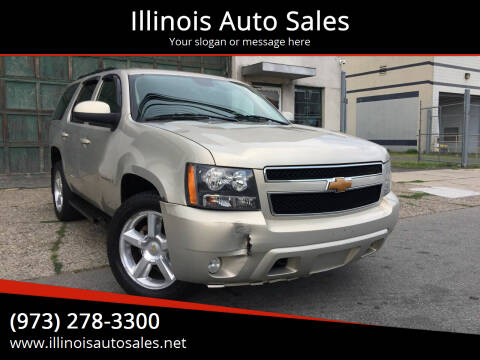 2007 Chevrolet Tahoe for sale at Illinois Auto Sales in Paterson NJ