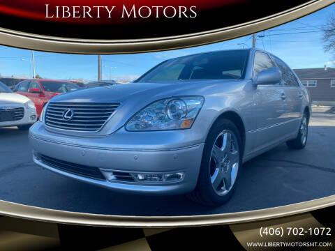 2006 Lexus LS 430 for sale at Liberty Motors in Billings MT