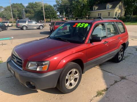 2003 Subaru Forester for sale at NJ Quality Auto Sales LLC in Richmond IL