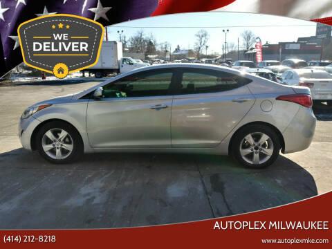 2013 Hyundai Elantra for sale at Autoplex Milwaukee in Milwaukee WI
