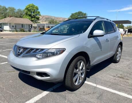 2014 Nissan Murano for sale at University Auto Sales Inc in Pocatello ID
