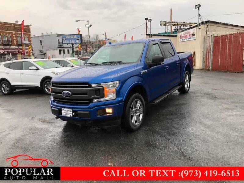 2018 Ford F-150 for sale at Popular Auto Mall Inc in Newark NJ