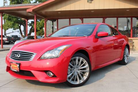 2013 Infiniti G37 Coupe for sale at ALIC MOTORS in Boise ID
