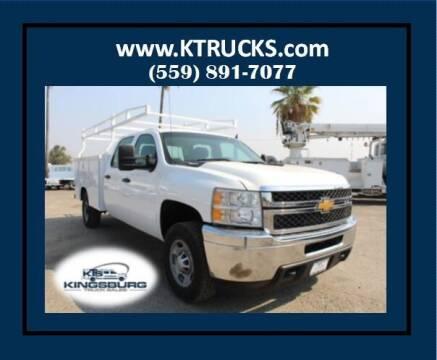 2013 Chevrolet Silverado 2500HD for sale at Kingsburg Truck Center - Utility Trucks in Kingsburg CA