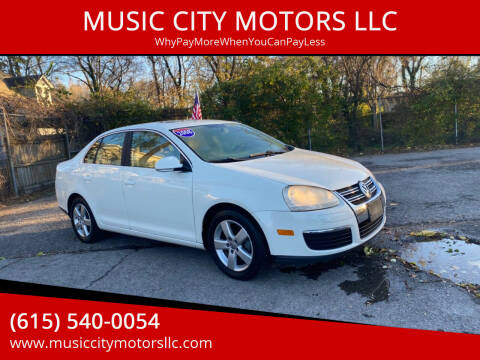 2008 Volkswagen Jetta for sale at MUSIC CITY MOTORS LLC in Nashville TN
