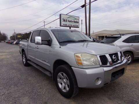 2005 Nissan Titan for sale at J & D Auto Sales in Dalton GA