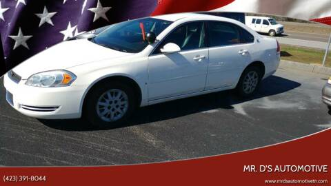 2007 Chevrolet Impala for sale at Mr. D's Automotive in Piney Flats TN