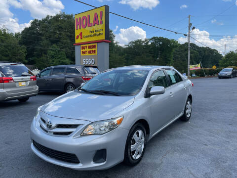 2011 Toyota Corolla for sale at No Full Coverage Auto Sales in Austell GA