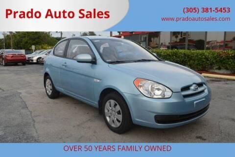 2010 Hyundai Accent for sale at Prado Auto Sales in Miami FL