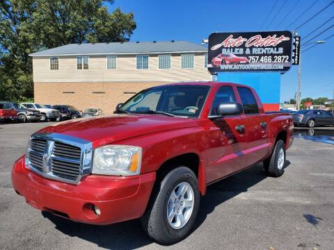 2006 Dodge Dakota for sale at Auto Outlet Sales and Rentals in Norfolk VA