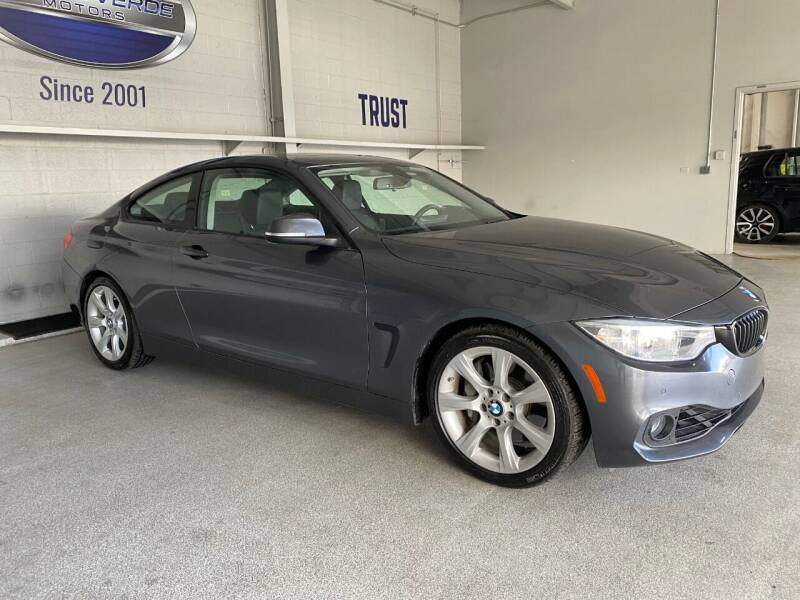 2014 BMW 4 Series for sale at TANQUE VERDE MOTORS in Tucson AZ