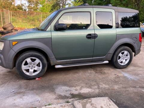 2003 Honda Element for sale at Peppard Autoplex in Nacogdoches TX
