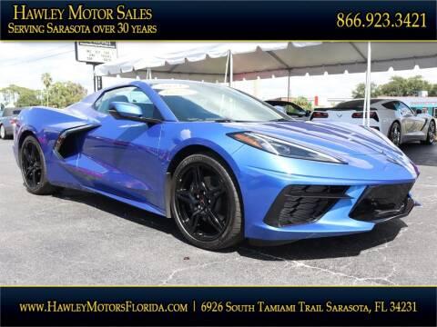 2021 Chevrolet Corvette for sale at Hawley Motor Sales in Sarasota FL