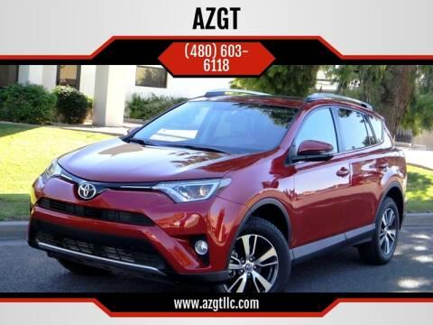 2016 Toyota RAV4 for sale at AZGT LLC in Phoenix AZ