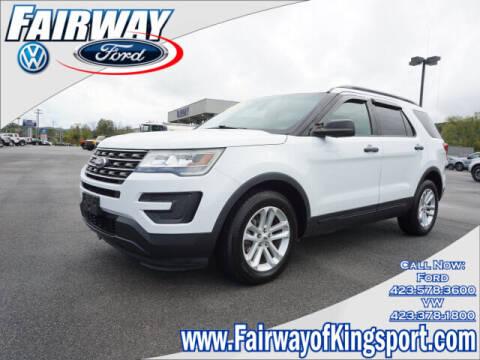 2016 Ford Explorer for sale at Fairway Volkswagen in Kingsport TN